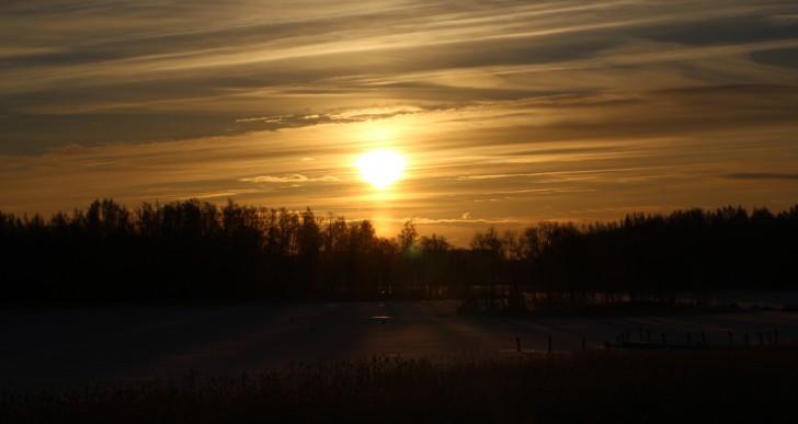 Zaćmienie słońca na Islandii
