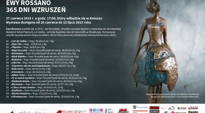 365 dni wzruszeń – wernisaż wystawy rzeźb w Reykjaviku