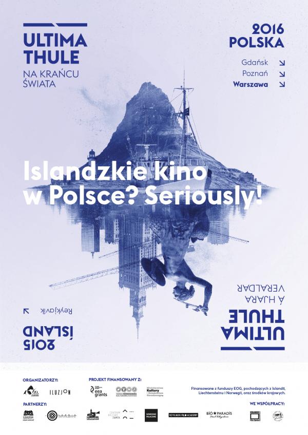Polskie kino w Bíó Paradís w Reykjaviku